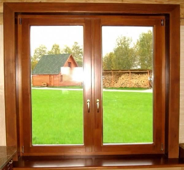 Картинки по запросу Деревянные окна со стеклопакетом: плюсы и минусы