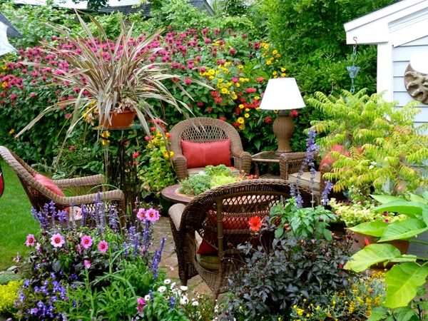 Сад на маленьком участке