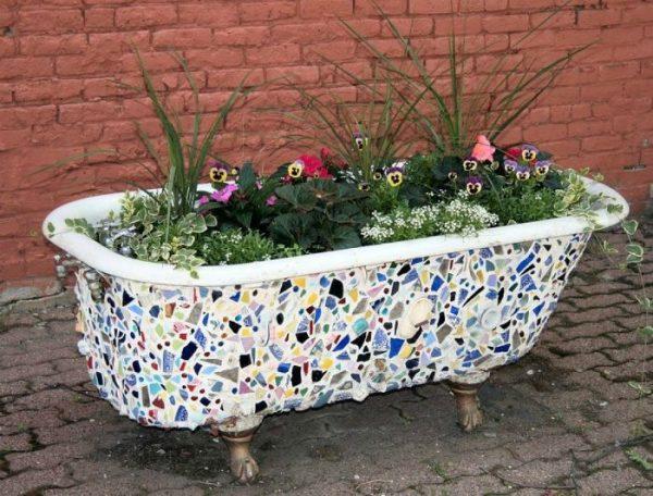 Ванна цветник